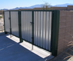 In-House Manufacturing, Canopies, EVR Tank Enclosures, Canister Enclosures, Custom Steel Homes, Trash Enclosures, Sheet Metal