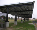 CALCRAFT Manufactures all types of canopies, including solar canopies, service station canopies, retail canopies, Solar Canopy