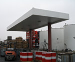 CALCRAFT Manufactures all types of canopies, including solar canopies, service station canopies, retail canopies, Pacific Pride