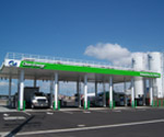 CALCRAFT Manufactures all types of canopies, including solar canopies, service station canopies, retail canopies, Clean Energy Service Station Canopy