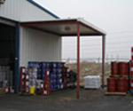 One Stop Shop for Commercial building construction, New Utility Canopy at Pacific Pride Warehouse