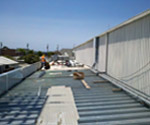 One Stop Shop for Commercial building construction, Sheet Metal Work on Commercial Building Roof