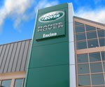 Land Rover Dealership, Automotive Towers, ACM Fascia, ACM, Aluminum Composite Material, Exterior Remodel, Exterior Reimage
