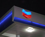Full Electrical Services, Canopy fascia lighting for CHEVRON, QSR Electrical Servies, Petroleum Service Station Electrical Services