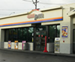 Exterior Paint and graphics on ampm convenience store